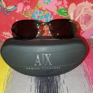 Armani Exchange sunglasses with case